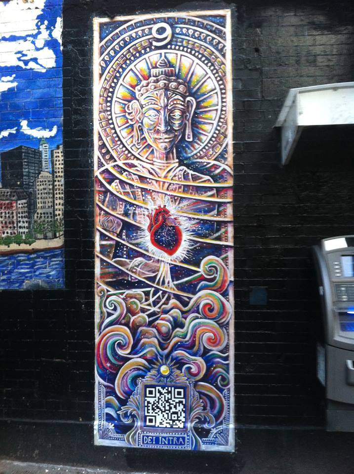 nicolina johnson, perola bonfanti, art, canvas, nyc, new york, dan bratman, east village, the free art society, paintings, street art, manhattan, downtown, lower east side